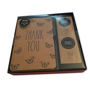 NWT Rae Dunn Signature Collection Note Card Set